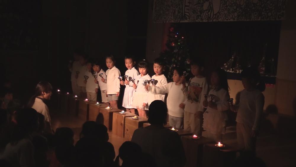 クリスマス会 とんぼ組ハンドベル